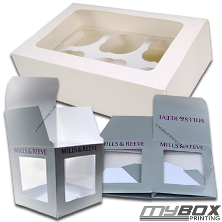 Customised Cupcake Packaging Boxes