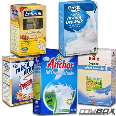 Dry Milk Packaging Boxes