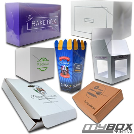 Personalised Food Packaging Boxes - My Box Printing