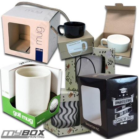 Custom Mug Packaging Boxes