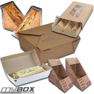 Customised Sandwich Boxes
