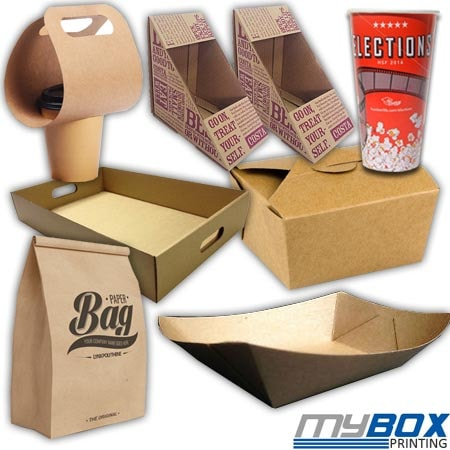 Custom Fast Food Packaging Boxes