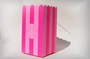 Fluorescent Colour Printed Popcorn Boxes