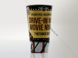 Poly Paper Popcorn Cups
