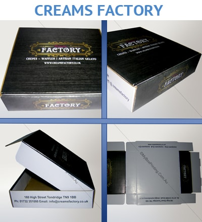Waffles Packaging Boxes