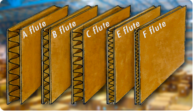 flute types of corrugated boxes